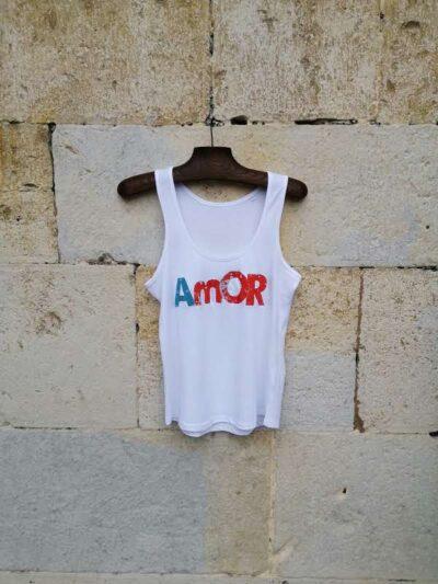 camiseta amor tirante